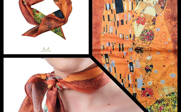 Win this amazing Silk Scarf!