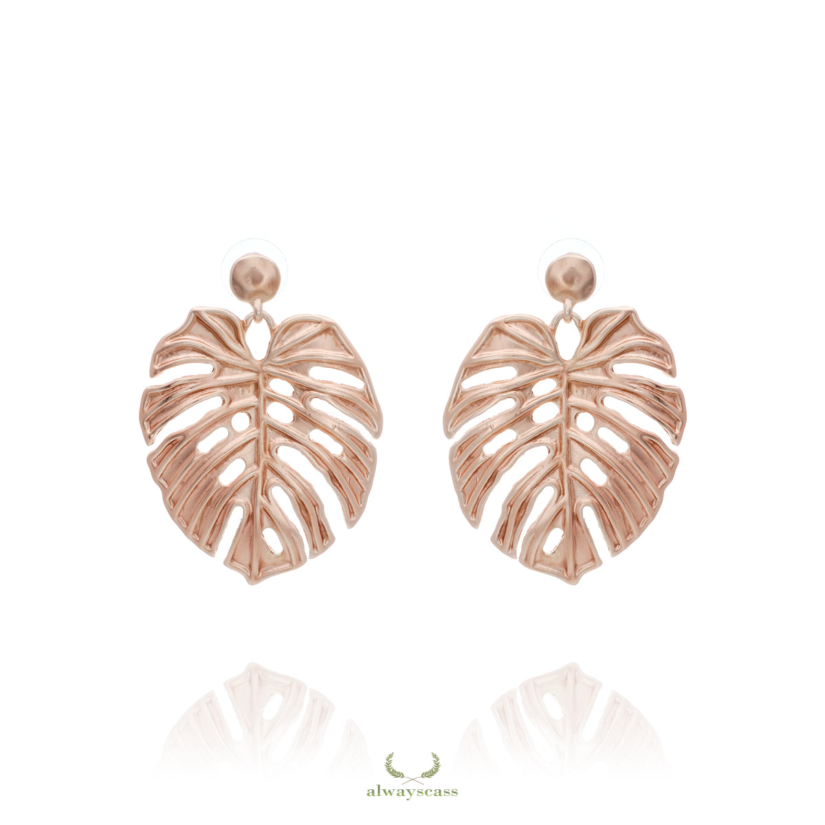 Royal Leaves Earrings