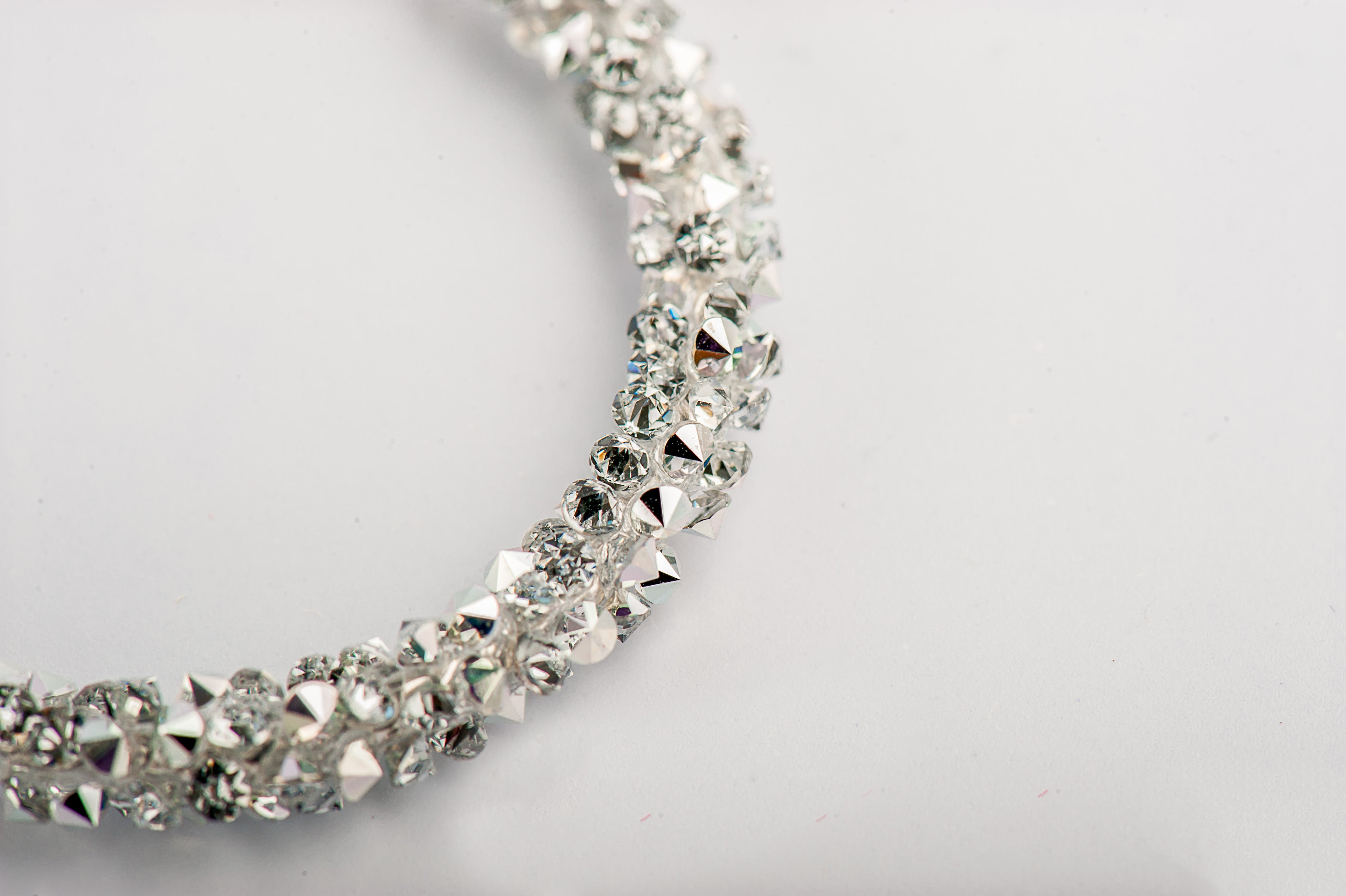 fashion accessories necklace with cubic zirconia american diamonds uk silver colier cu zirconii zirconiu