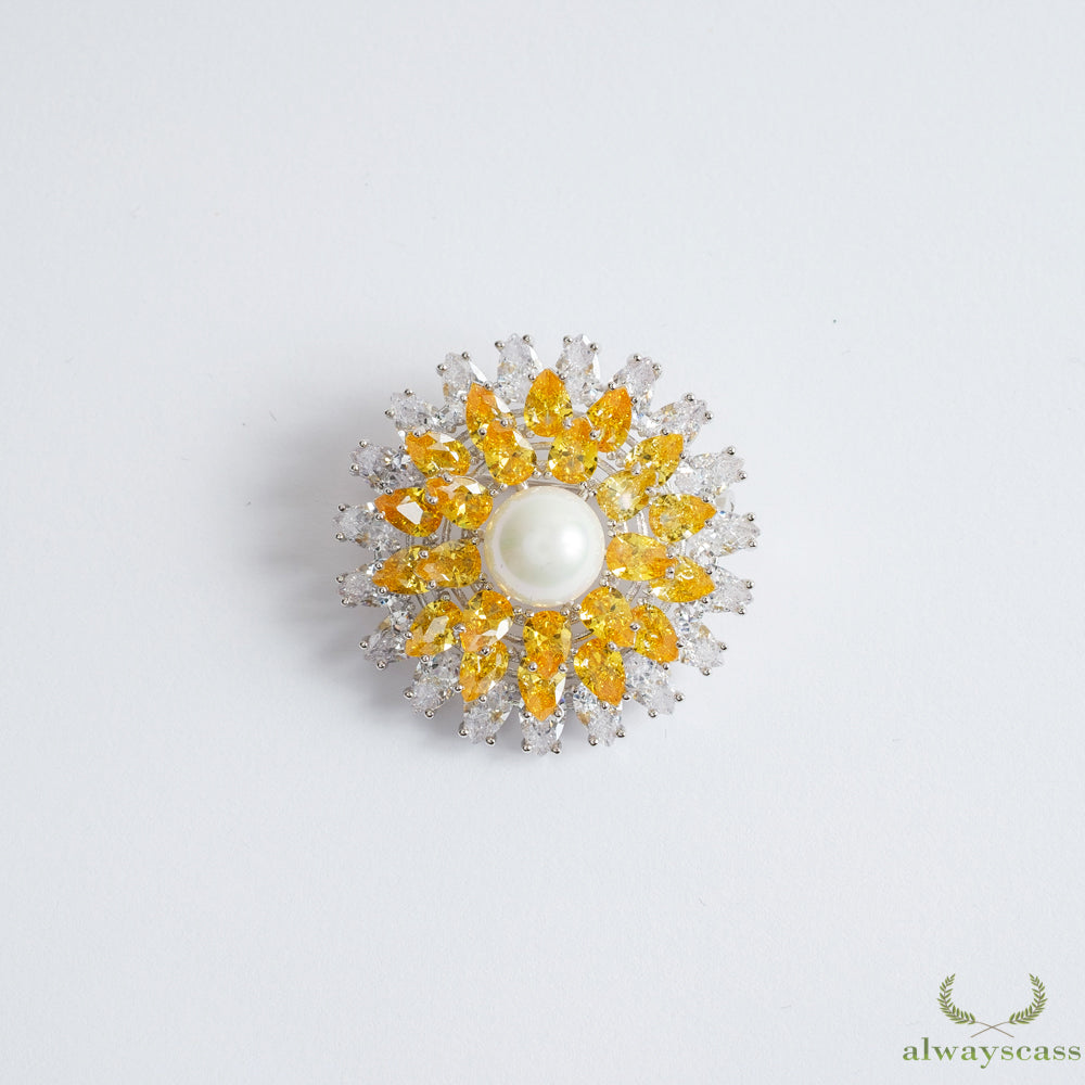Rising Sun brooch