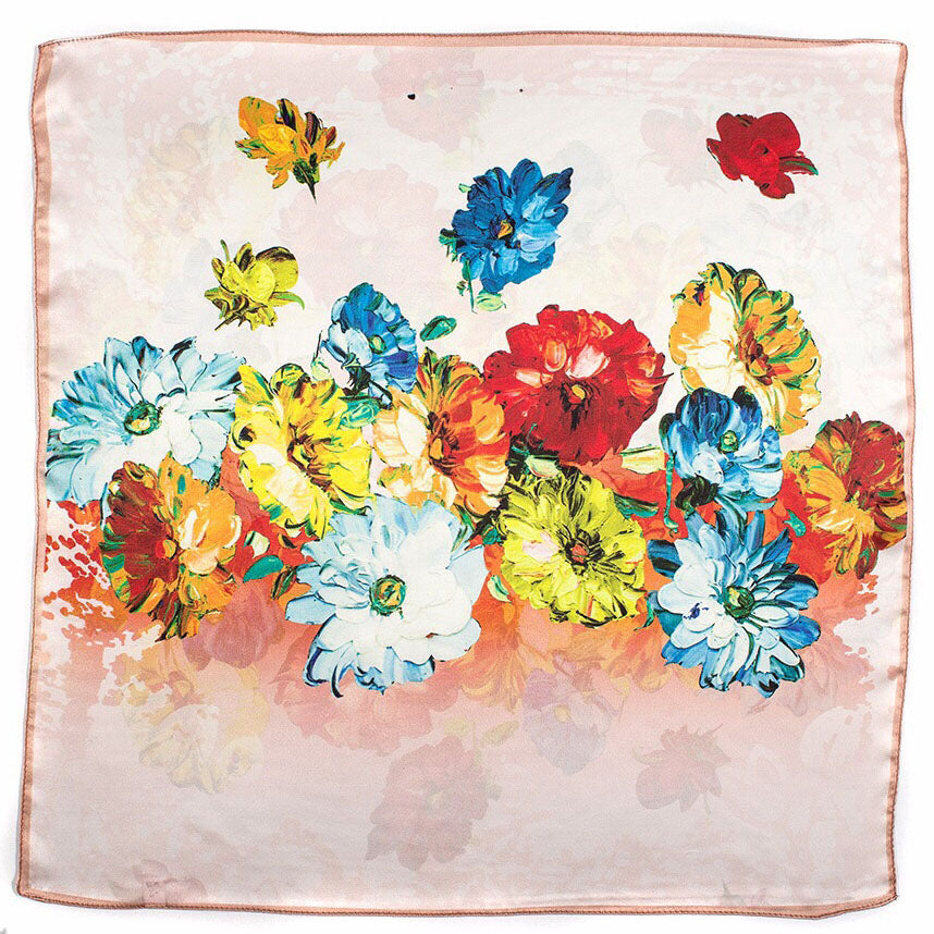 Autumn Thoughts Silk Scarf