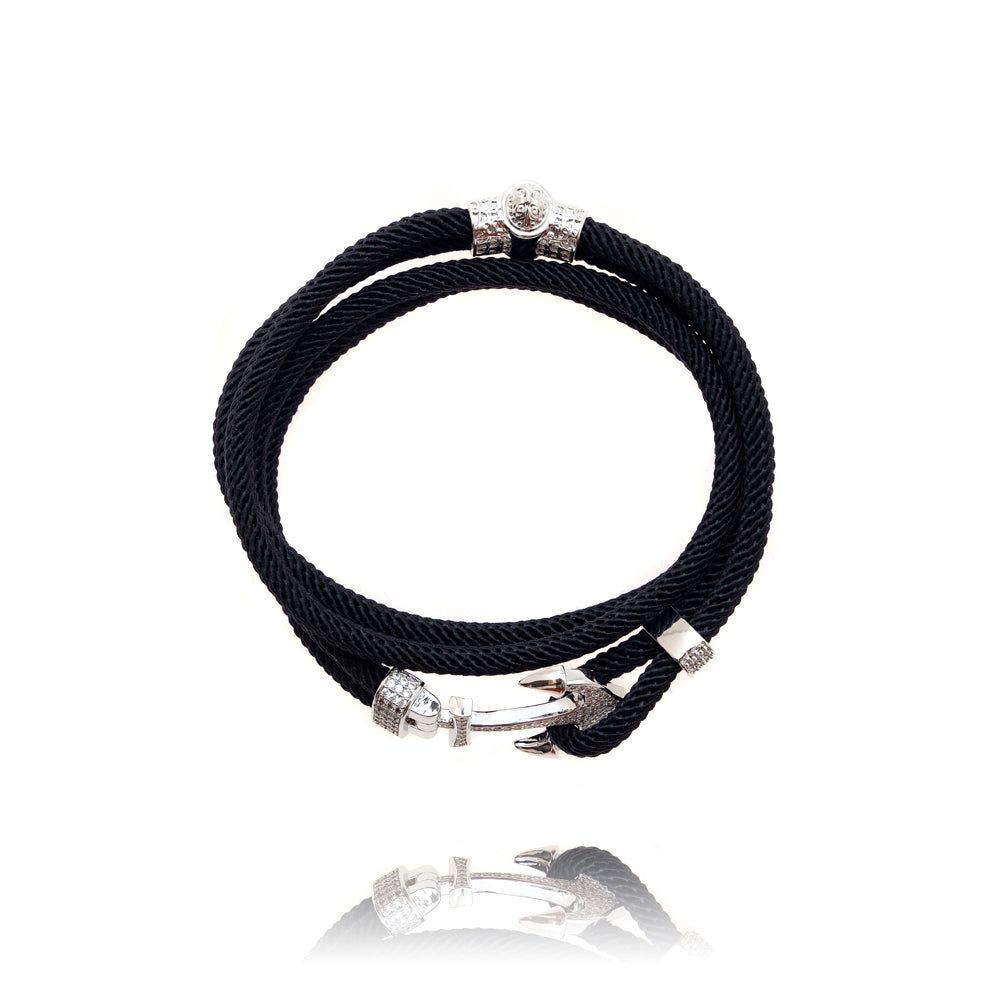 Zirconia Anchor bracelet