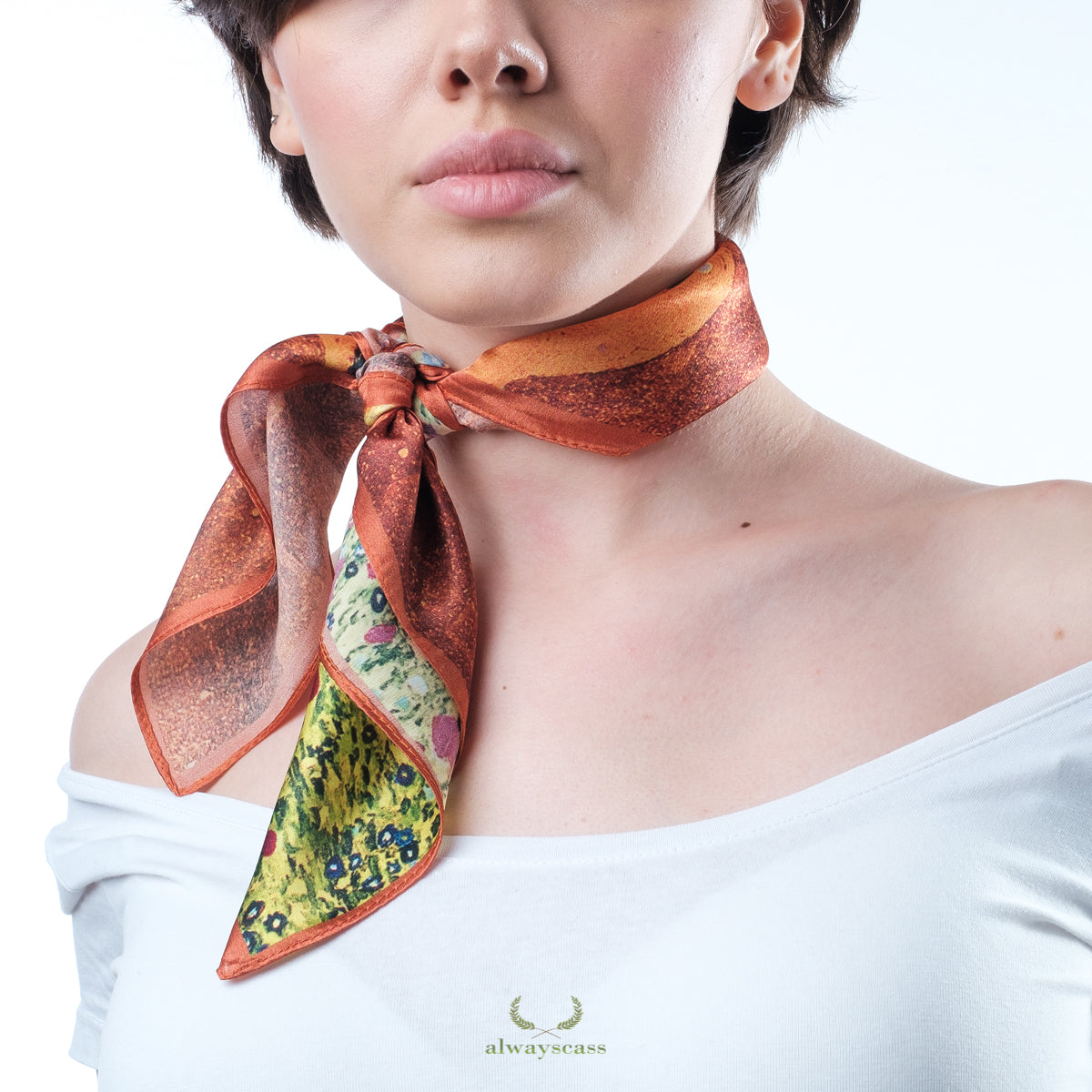 Passion Silk Scarf