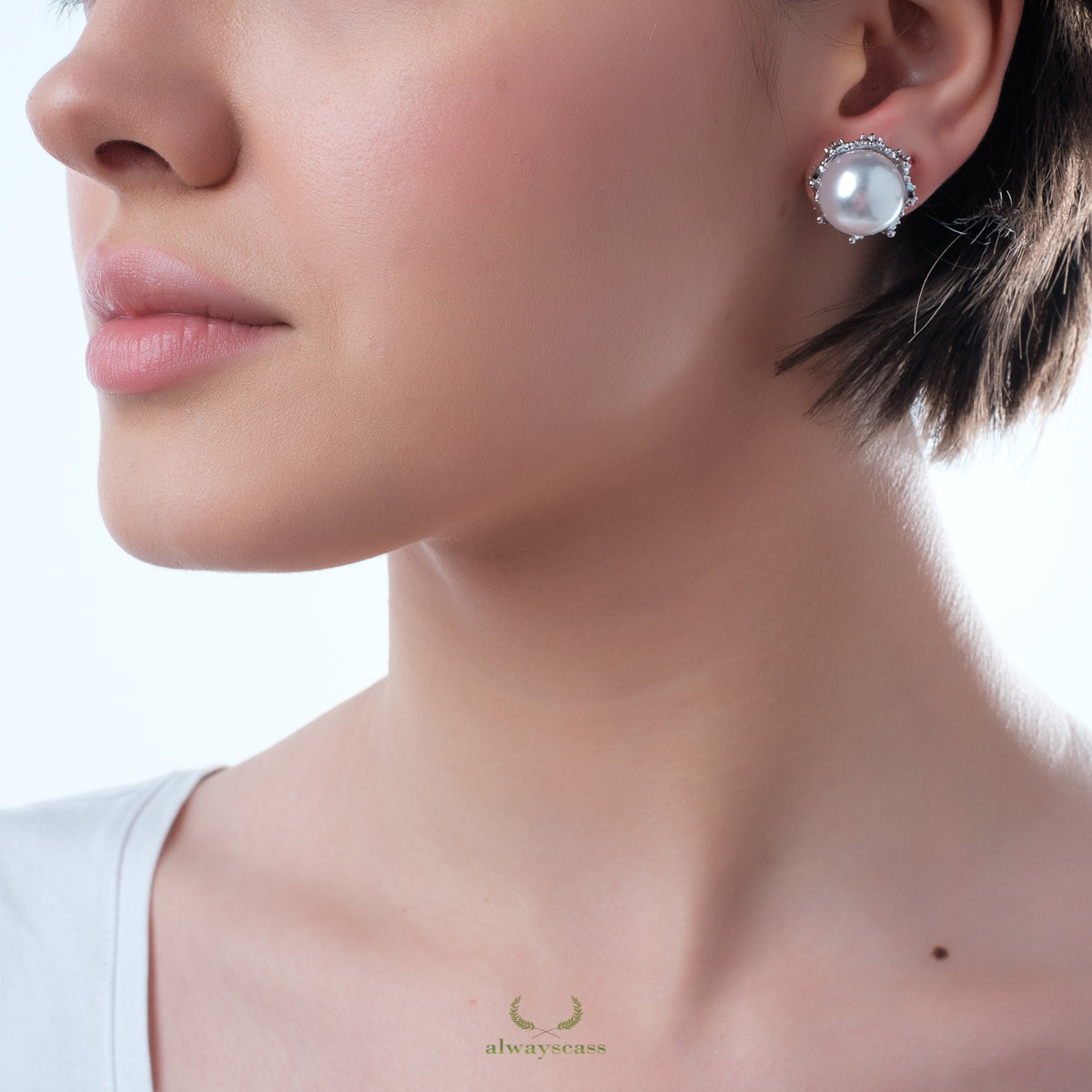 Pearl Globes Earrings