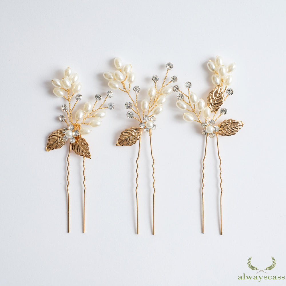 Maria bridal hair pin