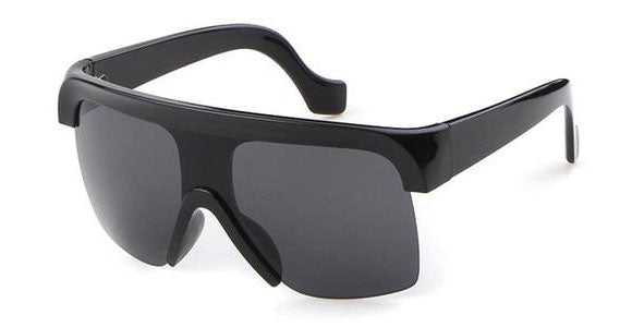 Oversize Visor Shield Sunglasses