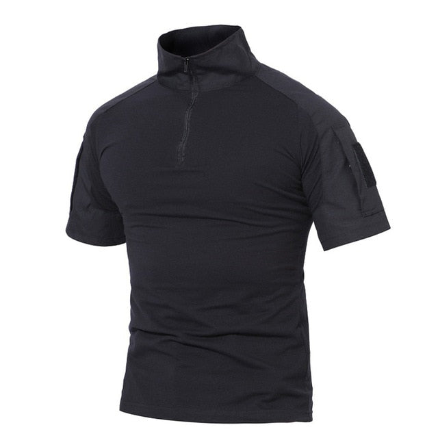 Half-zip Shirt with Arm Pocket