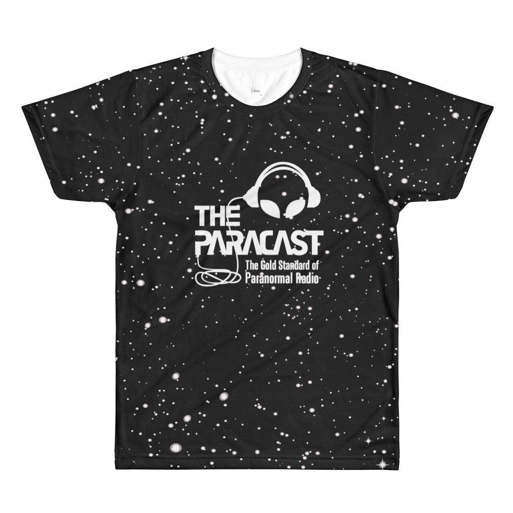 The Paracast. Men's All-Over Printed T-Shirt