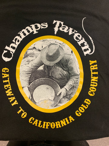 Screen Printed T shirt for Champs Tavern