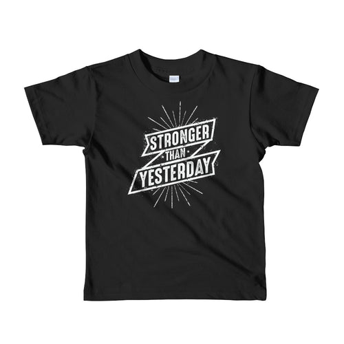 Kids Stronger Than Yesterday T-shirt