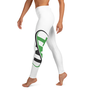 White TNT Leggings