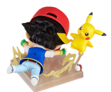 10cm Nendoroid Pikachu and Ash