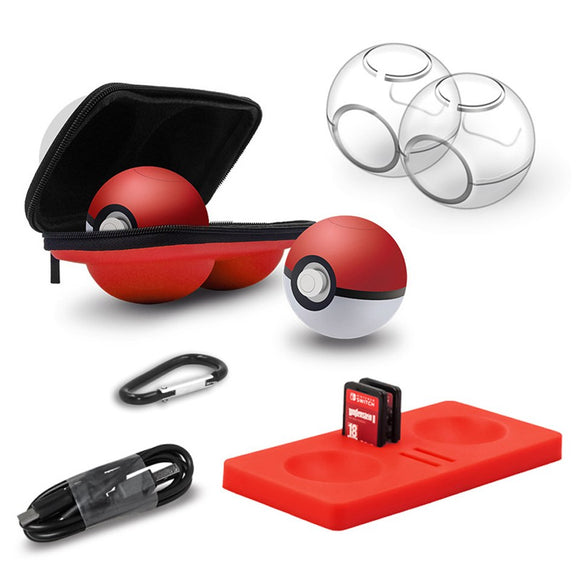 5 in 1 Accessories Kit for Nintendo Switch Pokeball controller
