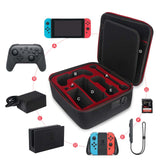 Carrying case for Nintendo Switch Console and Pro Controller Accessories