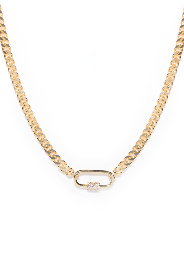 5th Ave | Carabiner Chain Necklace