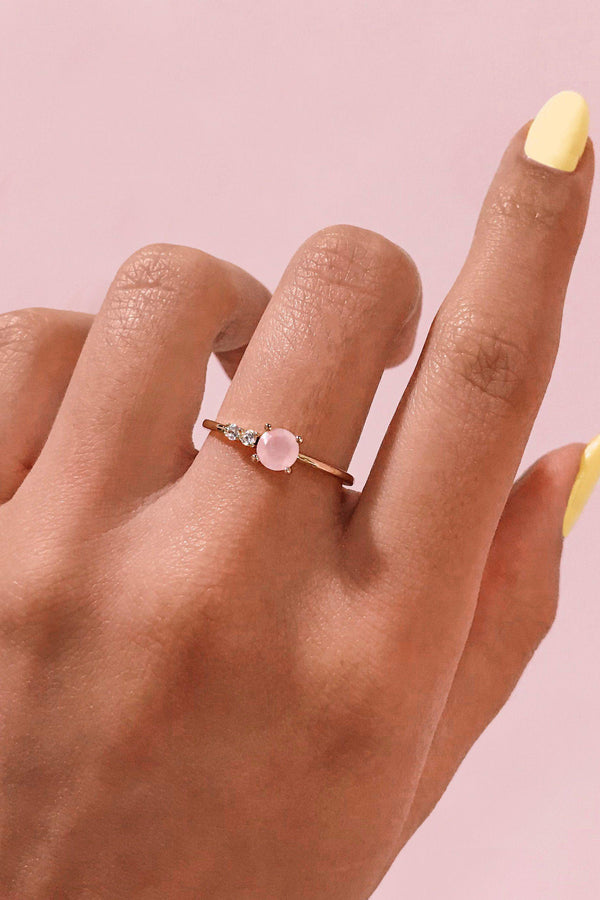 Rose Water Ring Gemandi Jewelry