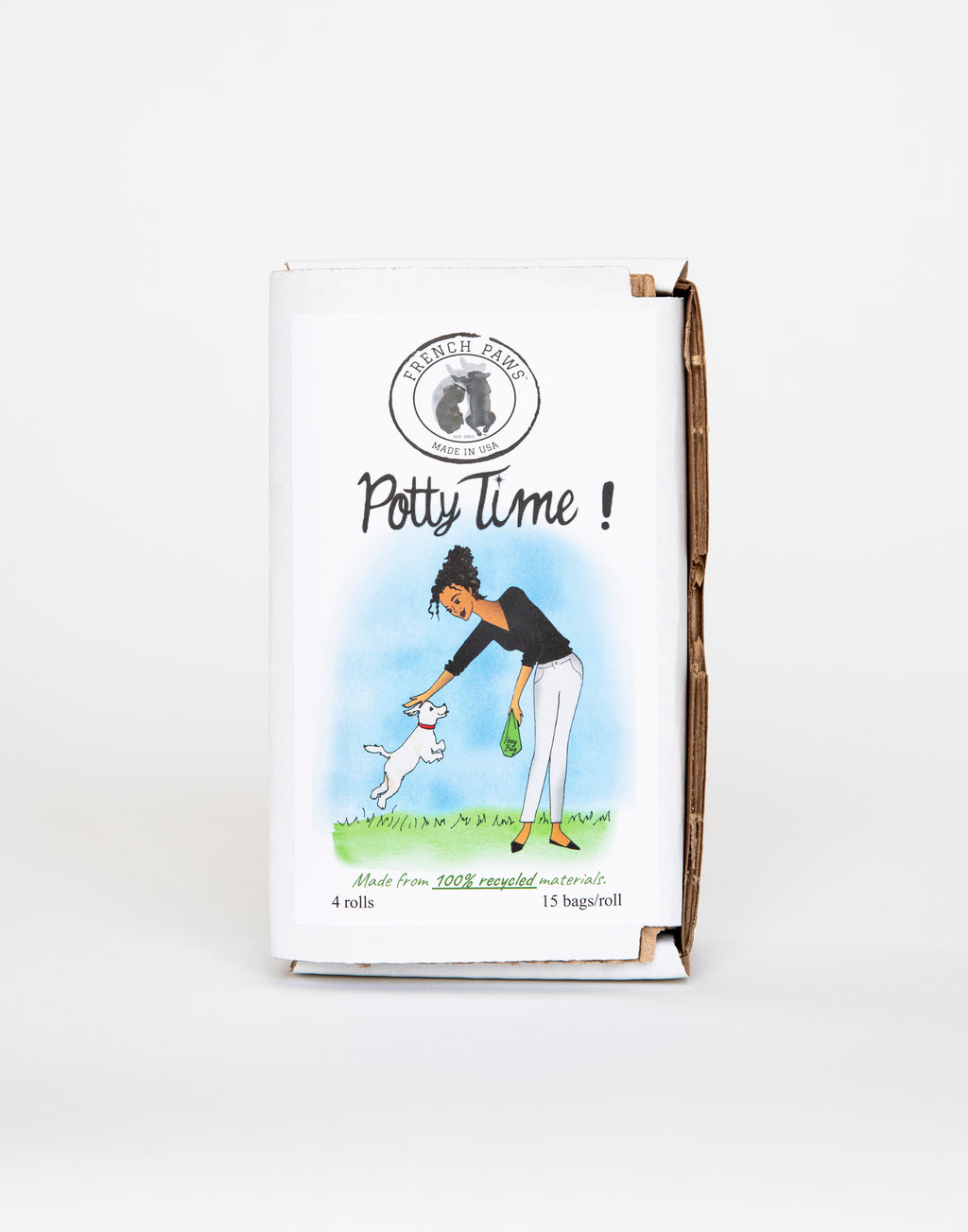 Potty Time ! Eco Friendly Poop Bags - FrenchPaws