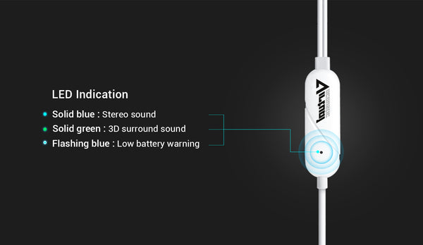 led indication on earbuds