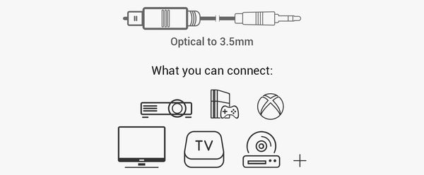 optical to 3.5mm cable
