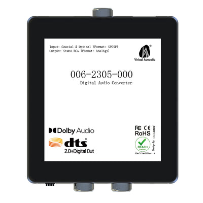 Digital Audio Converter(Dolby&DTS)