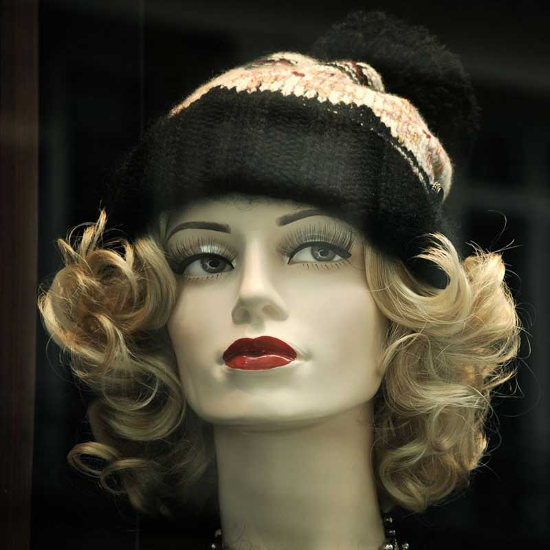 Hot Patterns in Women's Wigs and Head wear, Plus Other Current Hair Fashions