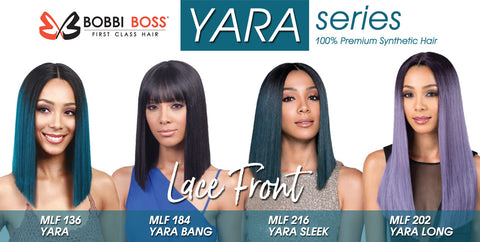 BOBBI BOSS SWISS LACE FRONT WIG  Yara