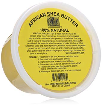 African Shea Butter 100% Natural -16 oz