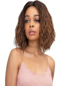 Janet Collection Lace Front wigs Extremely Deep Part Lace Wig - KELLY
