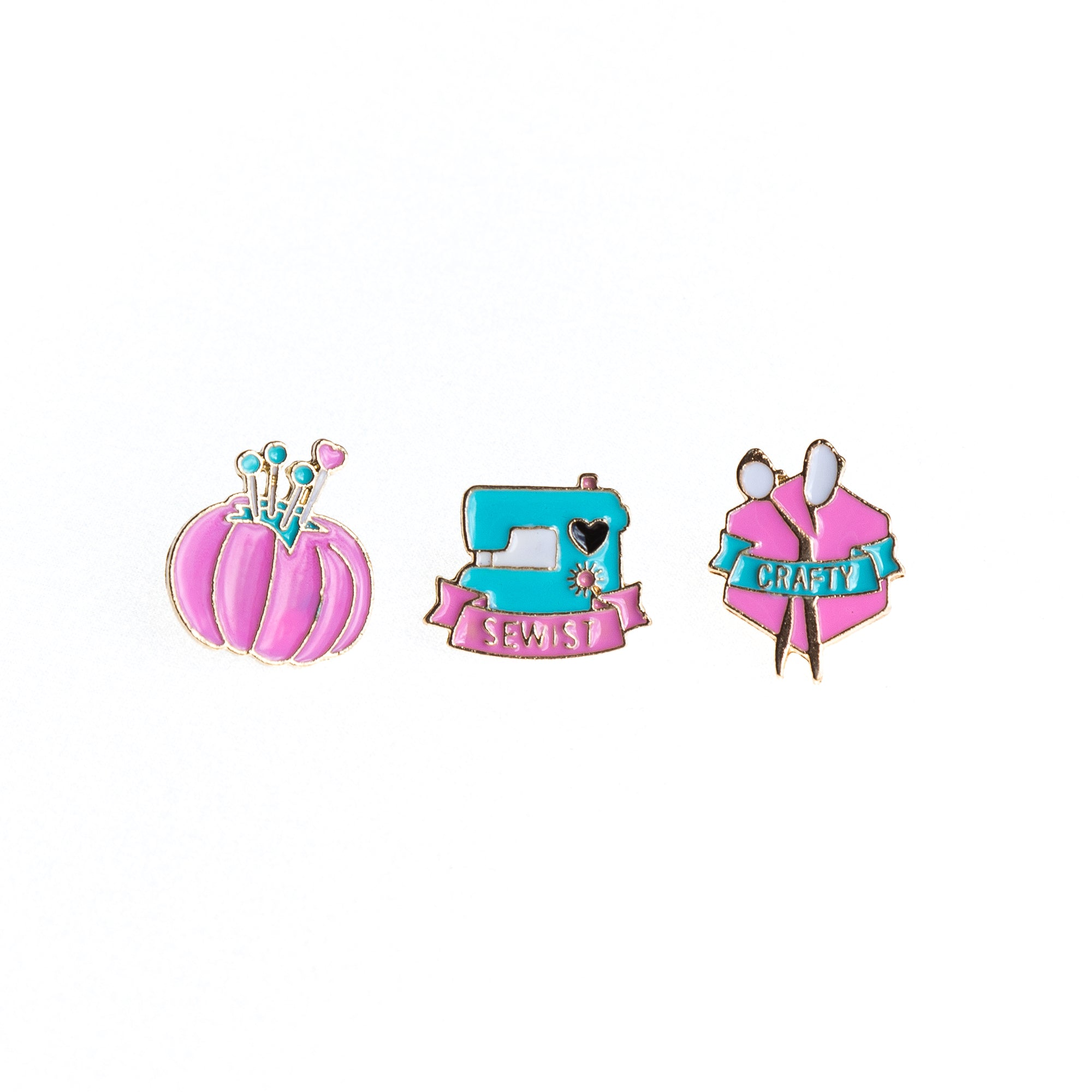 Kit de Pins Craft - Bordado Studio