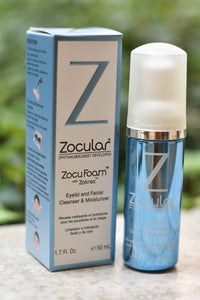ZocuShield Eyelid and Facial Cleanser & Moisturizer