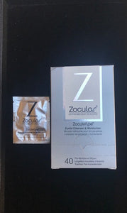 ZocuWipe Eyelid Cleanser and Moisturizer