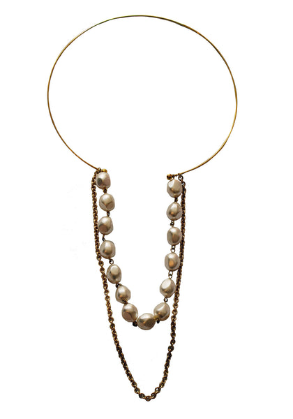 Pearl Drop Collar