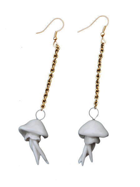 Mini Jellyfish Earrings