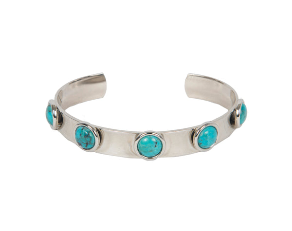 Turquoise Skinny Persh Cuff