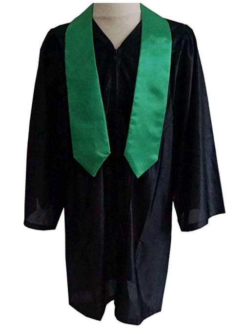 GraduatePro Graduation Stole Kids 2020 Sash Kindergarten Unisex Full Length 40 12 Colors