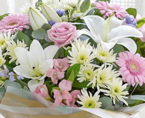Large Pastel Bouquet *FREE DELIVERY*