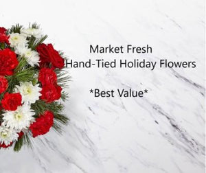 Market Fresh Handtied Christmas Flowers