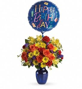 Fly Away Birthday Bouquet Deluxe