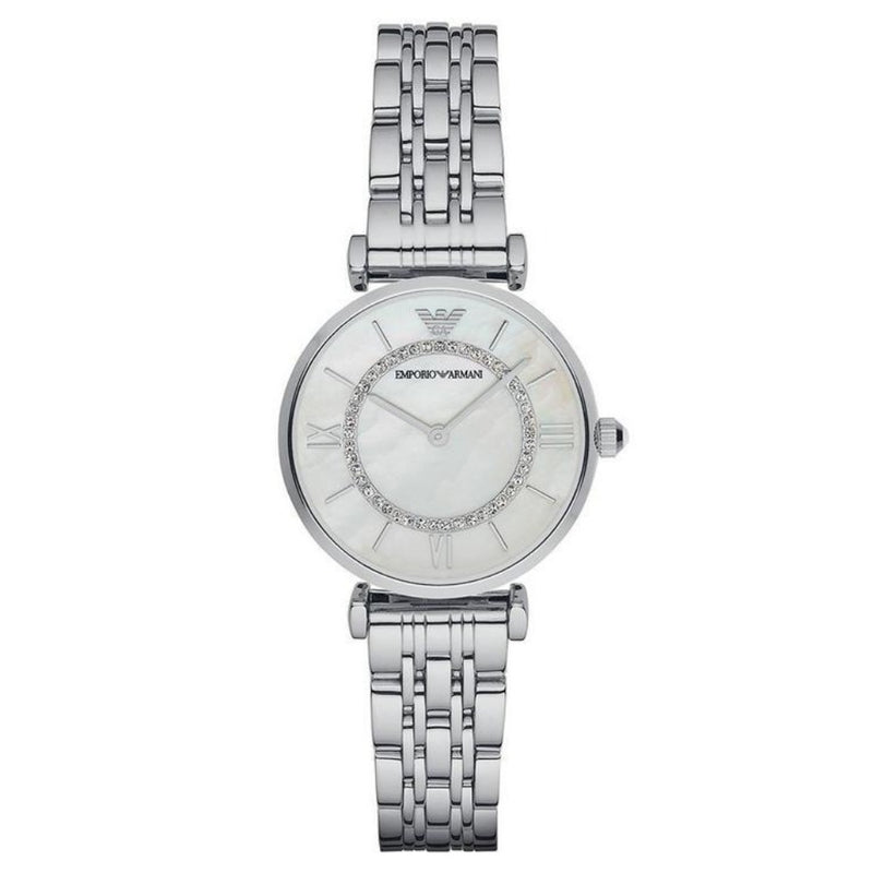 Emporio Armani AR1908 Ladies Silver Stainless Steel Watch
