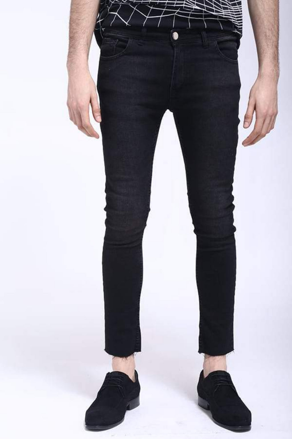 Berlin Black Mens Jean