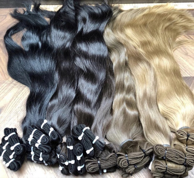 Wefts ambre 10 and 24 Color GVA hair - GVA hair