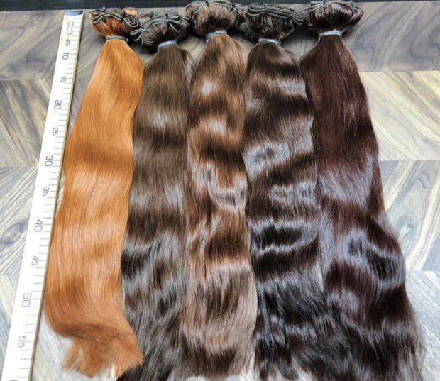 Wefts ambre 4 and 10 Color GVA hair - GVA hair