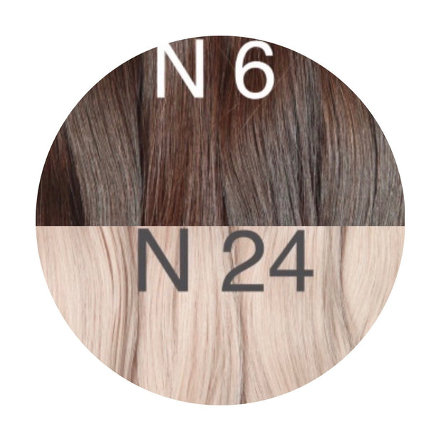 Hot Fusion ambre 6 and 24 Color GVA hair - GVA hair
