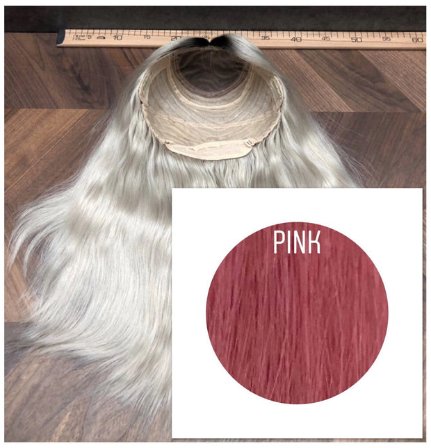 Wigs Color Pink GVA hair - GVA hair