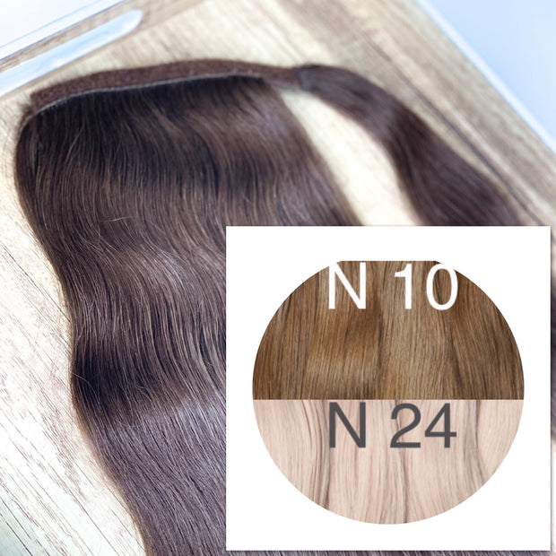 Ponytail Colors LIGHT OMBRE _Retail price - GVA hair