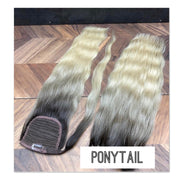 Clips and Ponytail Ambre 2 and 10 Color GVA hair - GVA hair