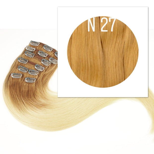 Clips  Color 27 GVA hair_Retail price - GVA hair