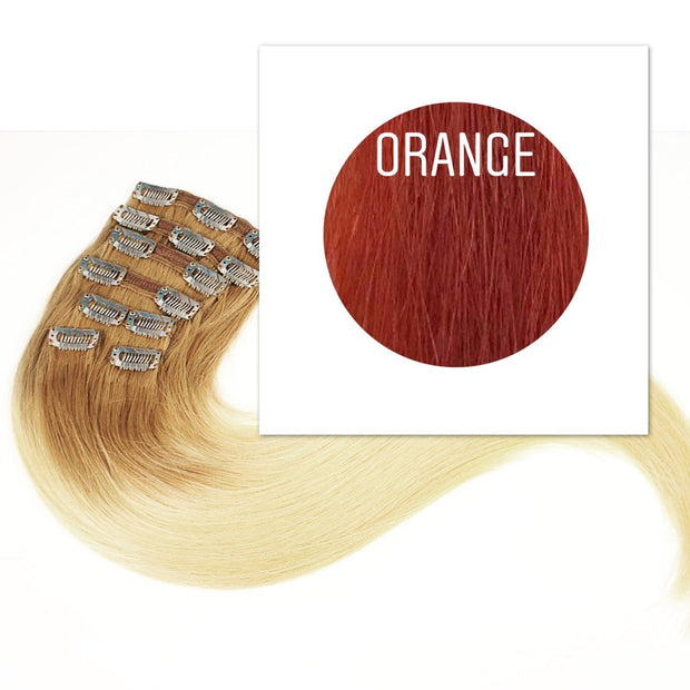 Clips  Color Orange GVA hair_Retail price - GVA hair