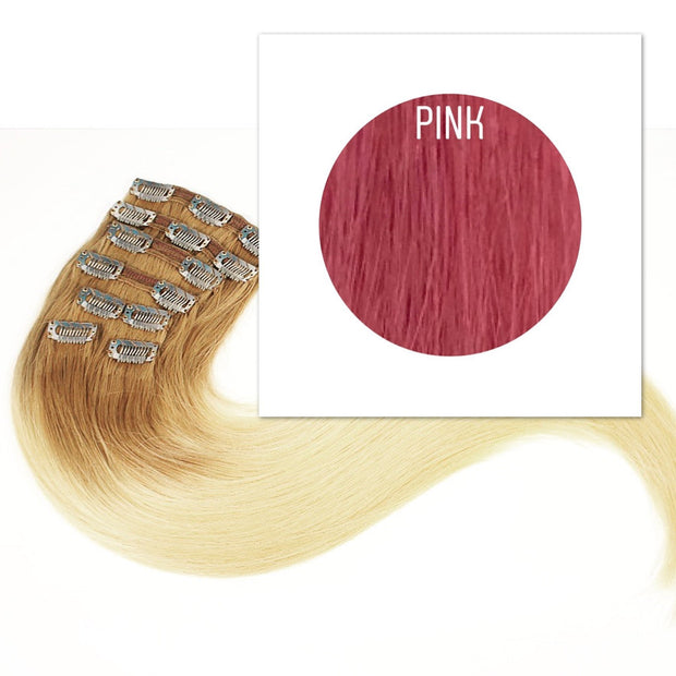 Clips Color Pink GVA hair_Retail price - GVA hair