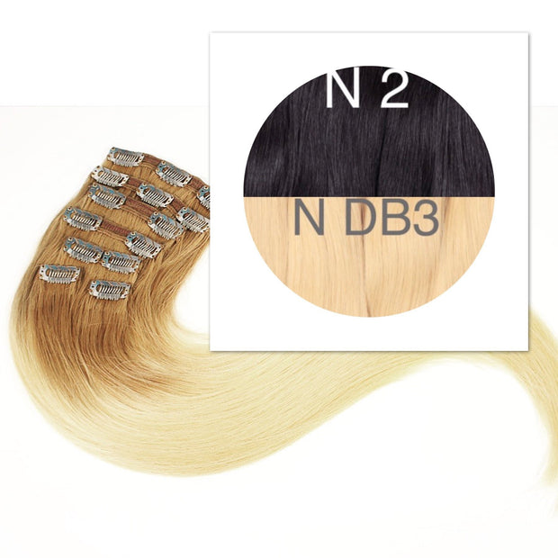 Clips Ombre 2 and DB3 Color GVA hair_Retail price - GVA hair